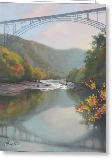 New River Gorge Greeting Card by Todd Baxter