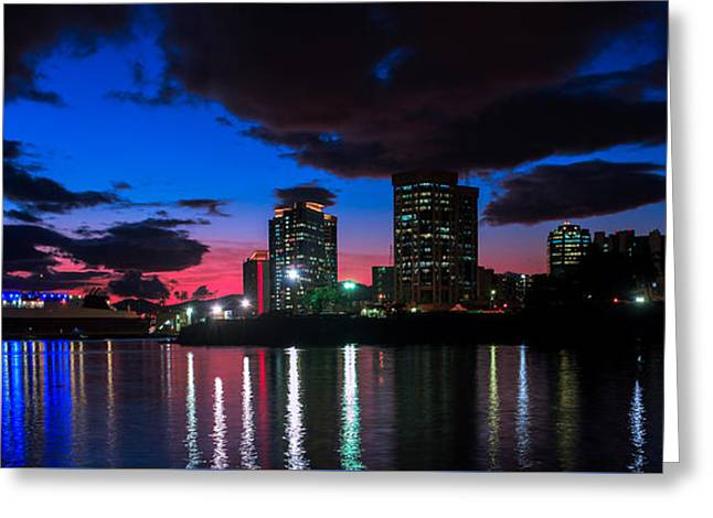New Sky Line  Greeting Card by Marcus Gonzales