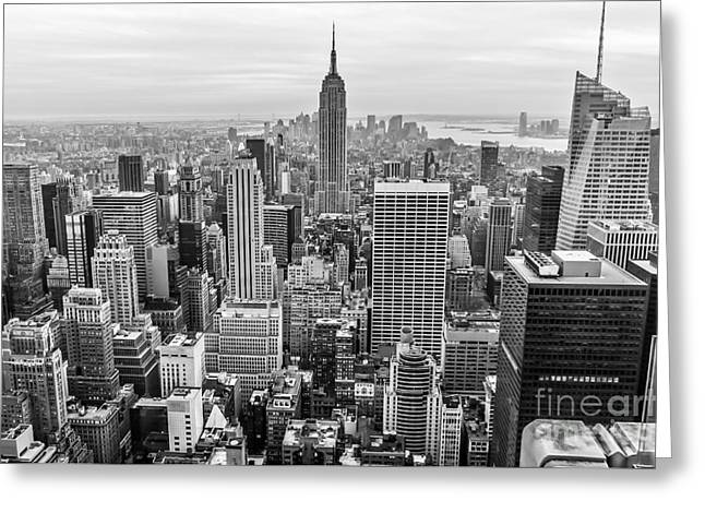 New York City Greeting Card by Anthony Sacco