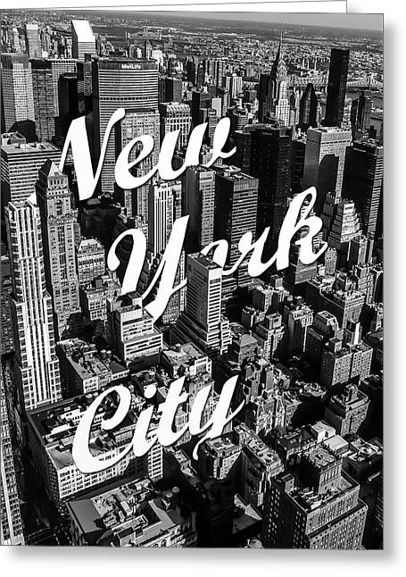 New York City Greeting Card by Nicklas Gustafsson