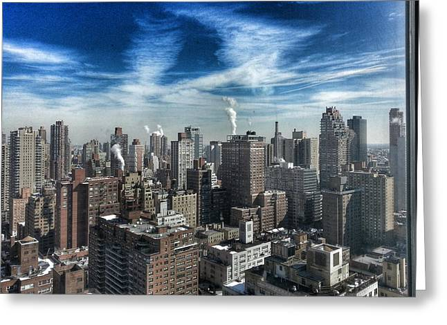 New York City  Greeting Card by Przemyslaw Gut