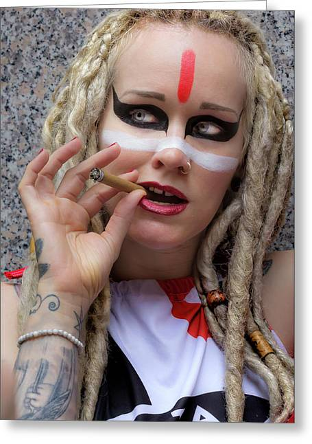 New York Dance Parade 5_21_16 Smoker Greeting Card by Robert Ullmann