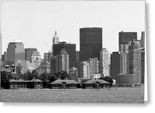 Chuck Kuhn Greeting Cards - New York New York Greeting Card by Chuck Kuhn