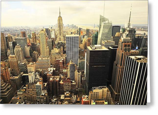 Svetlana Sewell Greeting Cards - New York Greeting Card by Svetlana Sewell