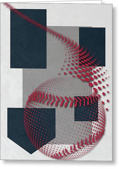 New York Yankees Art Greeting Card by Joe Hamilton