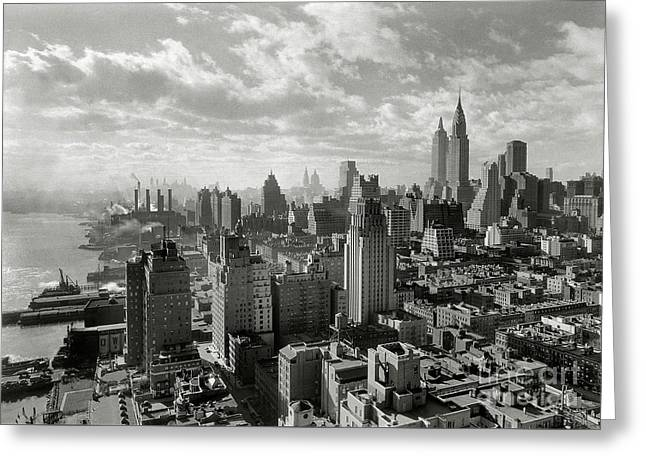 New Your City Skyline Greeting Card by Jon Neidert