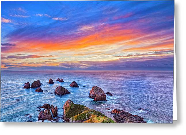 New Zealand Beauty Greeting Card by Colin and Linda McKie