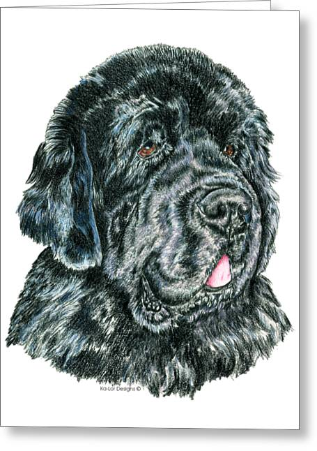 Newfoundland Greeting Card by Kathleen Sepulveda