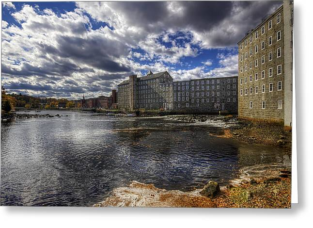 Newmarket Nh Greeting Card by Eric Gendron