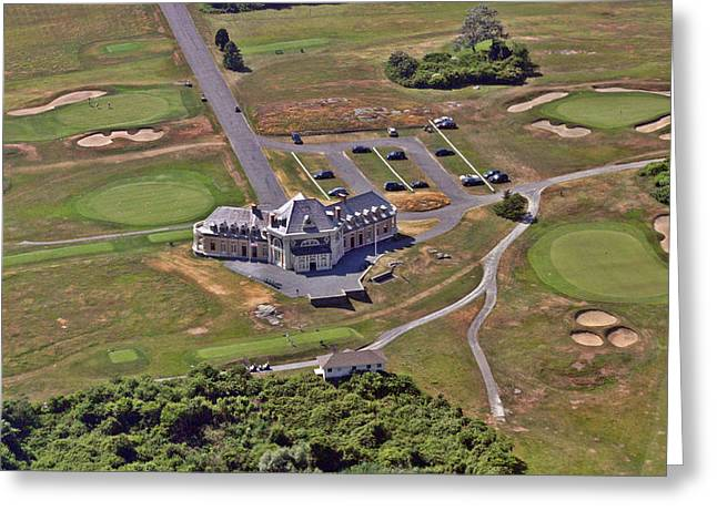 A. Paré Greeting Cards - Newport Country Club Greeting Card by Duncan Pearson