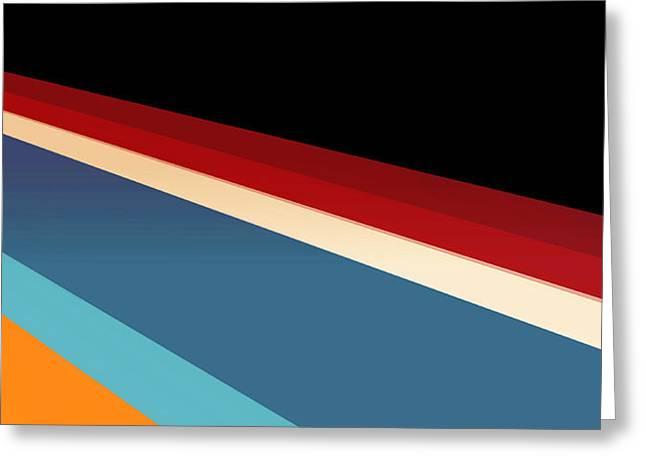 Ultra Modern Mixed Media Greeting Cards - Newport Dunes/ Coastline I Greeting Card by Mark Santistevan