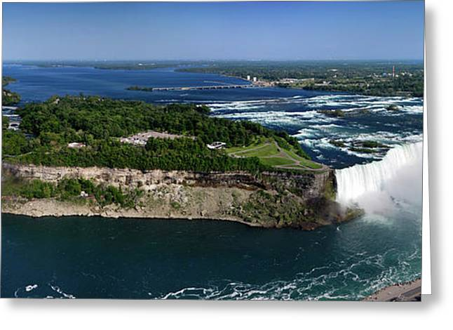 Outlook Greeting Cards - Niagara Falls Greeting Card by Oleksiy Maksymenko