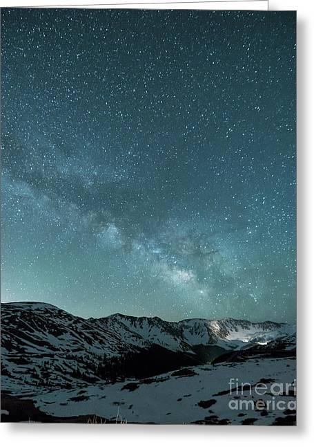 Rocky Mountain Magic Greeting Card by Juli Scalzi