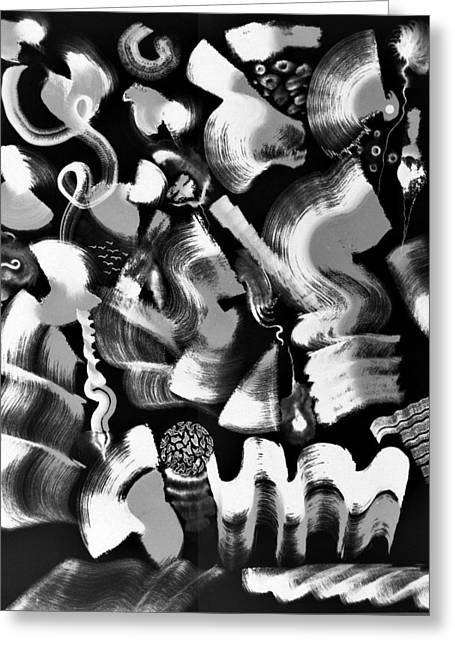 On Paper Photographs Greeting Cards - Night time Greeting Card by Sumit Mehndiratta
