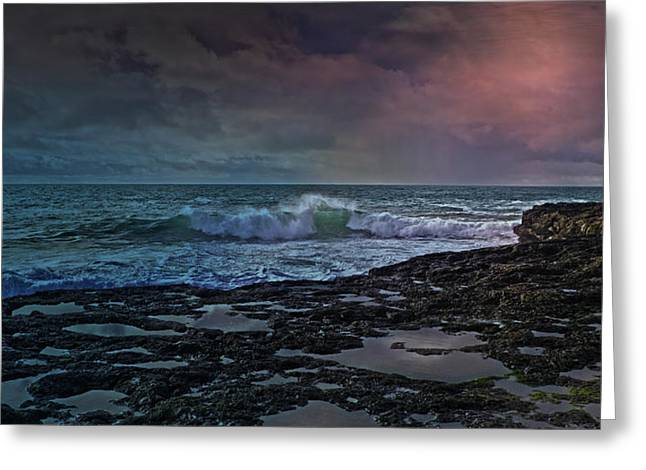Nightscape Greeting Card by Betsy Knapp