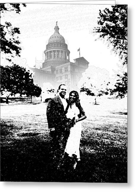 Just Married Greeting Cards - Nikki and Kris Greeting Card by James Granberry
