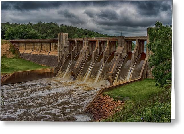 Nimrod Dam Greeting Card by Paul Freidlund
