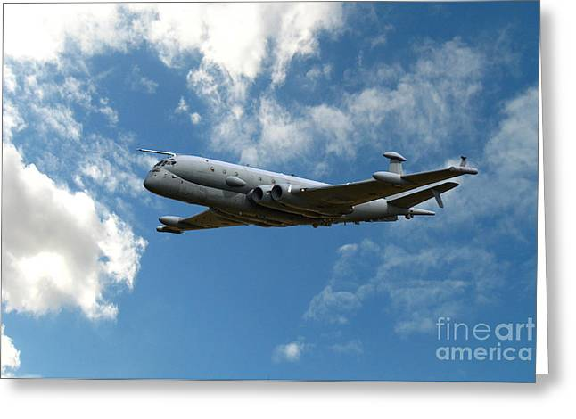 Nimrod Patrol Greeting Card by Stephen Smith