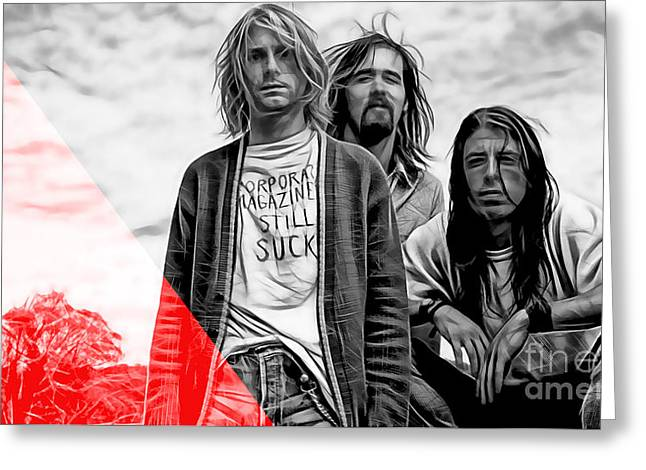 Nirvana Greeting Cards - Nirvana Collection Greeting Card by Marvin Blaine
