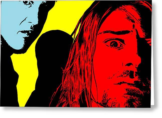 Nirvana No.01 Greeting Card by Caio Caldas