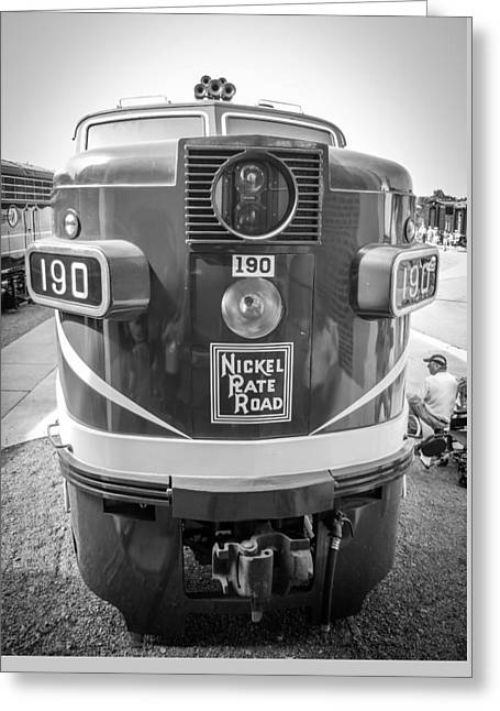 Alco Locomotives Greeting Cards - No. 190 2240 Greeting Card by Rob Crawford