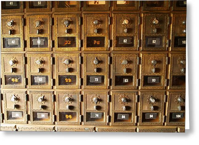 No Mail Today Greeting Card by Richard Mansfield