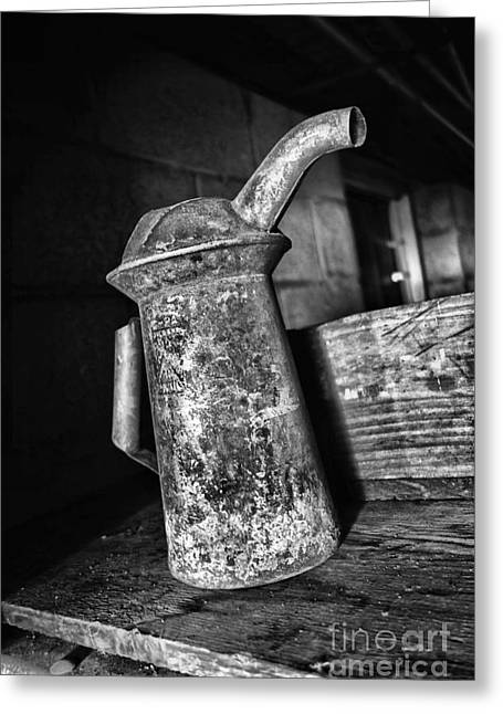 Farm Stand Greeting Cards - No More Watering the Flowers Greeting Card by Anthony Ackerman