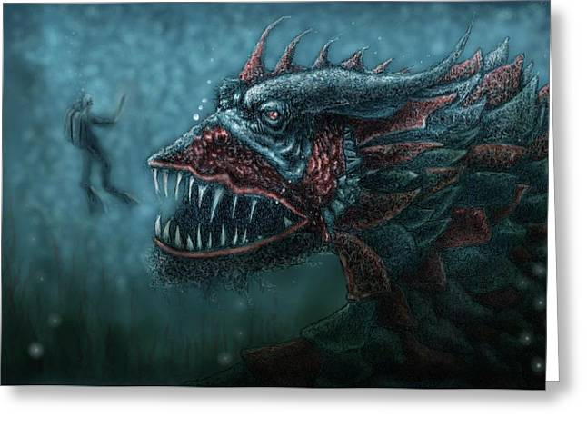 Best Sellers -  - Dungeons Greeting Cards - No Title Greeting Card by Erik Loiselle