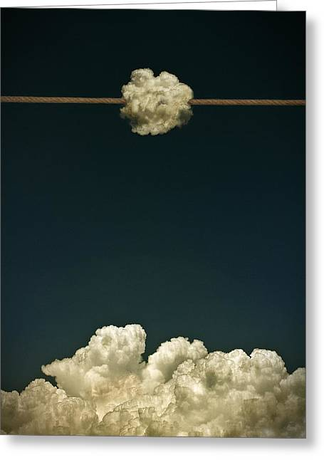 Rope Photographs Greeting Cards - No Title Greeting Card by Mister Solo