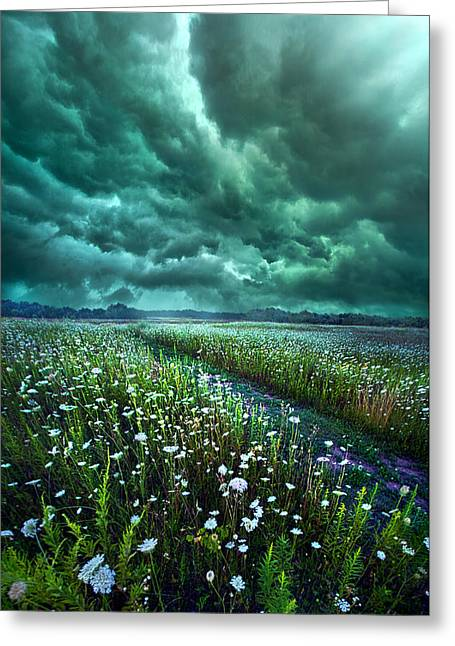 No Way Out Greeting Card by Phil Koch