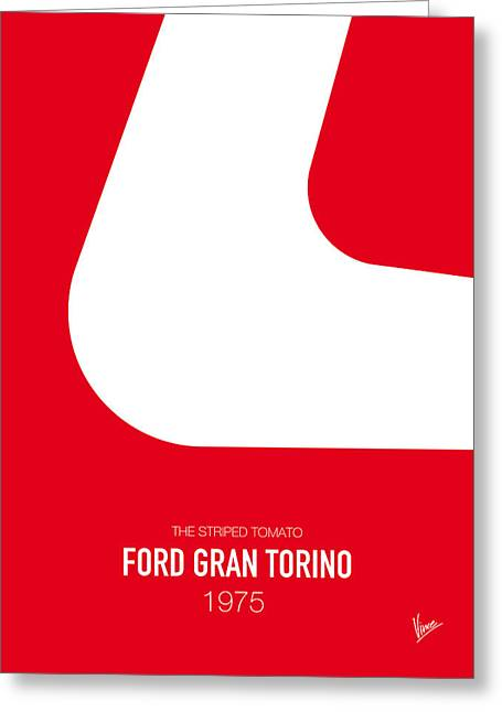 Furious Greeting Cards - No003 My starsky and hutch minimal movie car poster Greeting Card by Chungkong Art