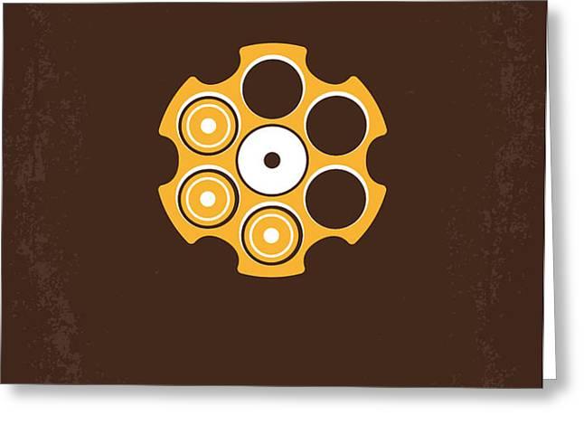 No019 My Deerhunter minimal movie poster Greeting Card by Chungkong Art