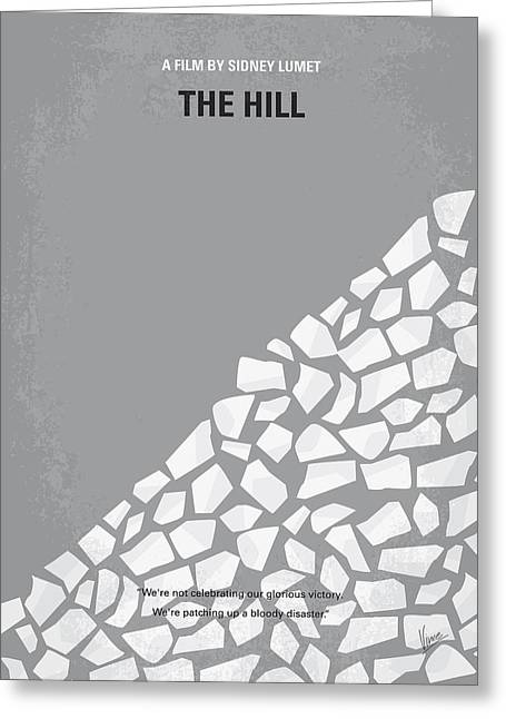Camps Greeting Cards - No091 My The Hill minimal movie poster Greeting Card by Chungkong Art