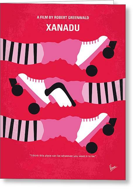 Olivia Greeting Cards - No516 My Xanadu minimal movie poster Greeting Card by Chungkong Art