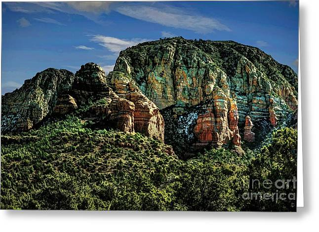 Sedona Greeting Cards - Nobody Paints Like Mama Greeting Card by Jon Burch Photography