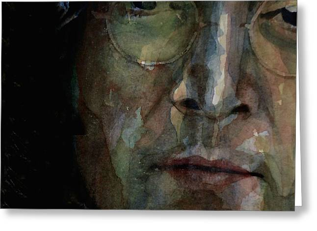 Nobody Told Me There'd Be Days Like These Greeting Card by Paul Lovering