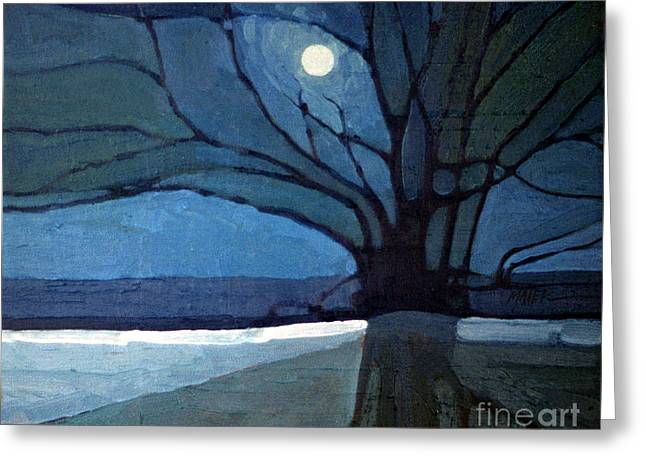 Nocturne 71 Greeting Card by Donald Maier