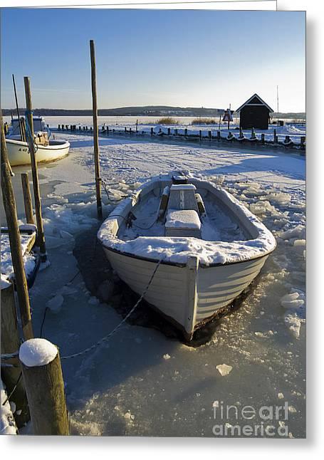 Habor Greeting Cards - Non Fishing today Greeting Card by Wedigo Ferchland