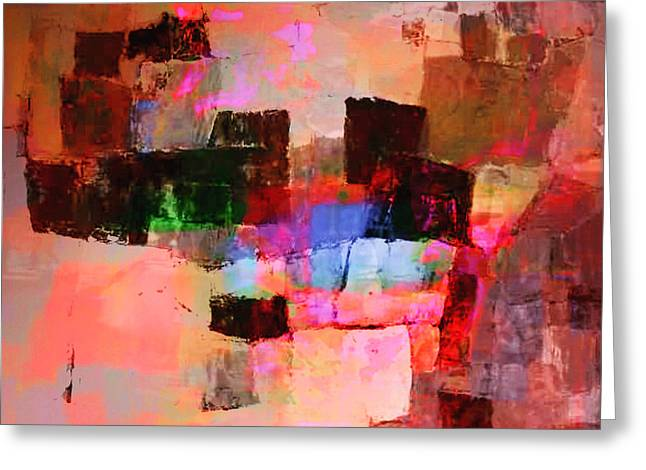 Abstractions Greeting Cards - NonSense1 Greeting Card by Ronaldo Weigand