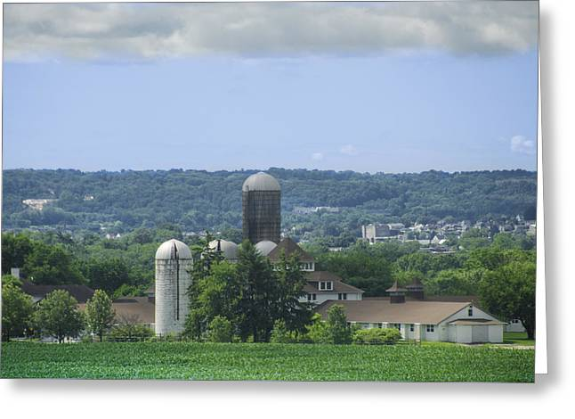 State Hospital Greeting Cards - Norristown Farm Park Greeting Card by Bill Cannon