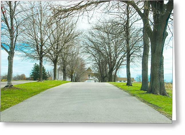 Norristown Farm Park Over The Rise Greeting Card by Bill Cannon