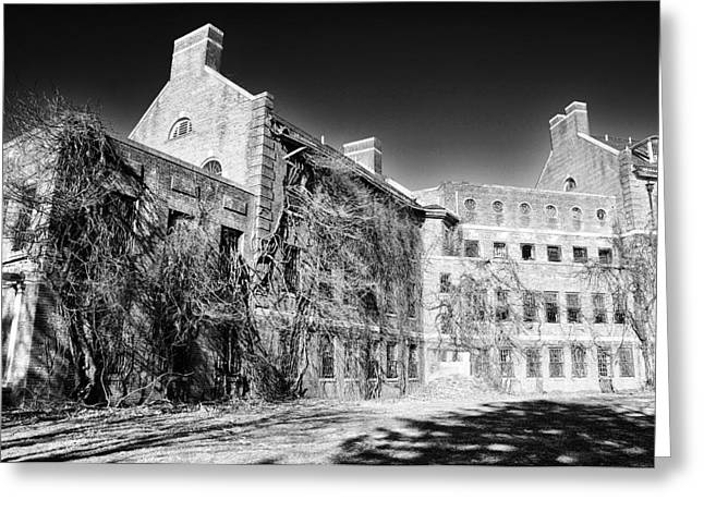 State Hospital Greeting Cards - Norristown State Hospital Greeting Card by Bill Cannon
