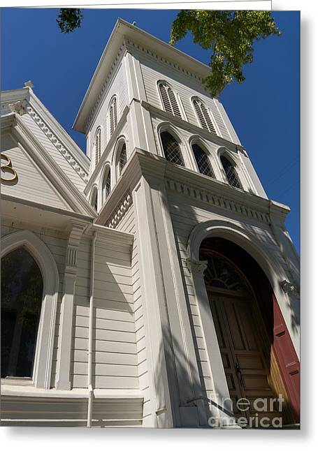 North Bay Revival Center Church Petaluma California Usa Dsc3820 Greeting Card by Wingsdomain Art and Photography