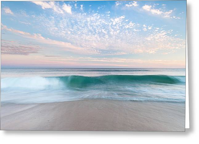 Barrier Island Greeting Cards - North Carolina Cape Hatteras National Seashore Sunset Greeting Card by Mark VanDyke