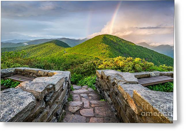 Passing Storm Greeting Cards - North Carolina Gold Greeting Card by Anthony Heflin