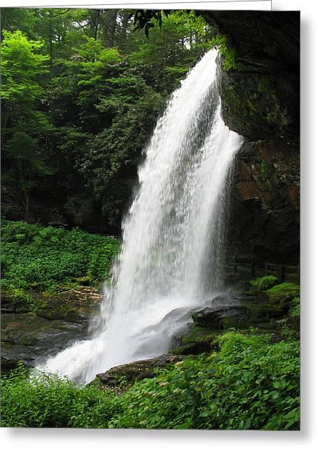 Julian Bralley Greeting Cards - North Carolina Waterfalls Greeting Card by Julian Bralley