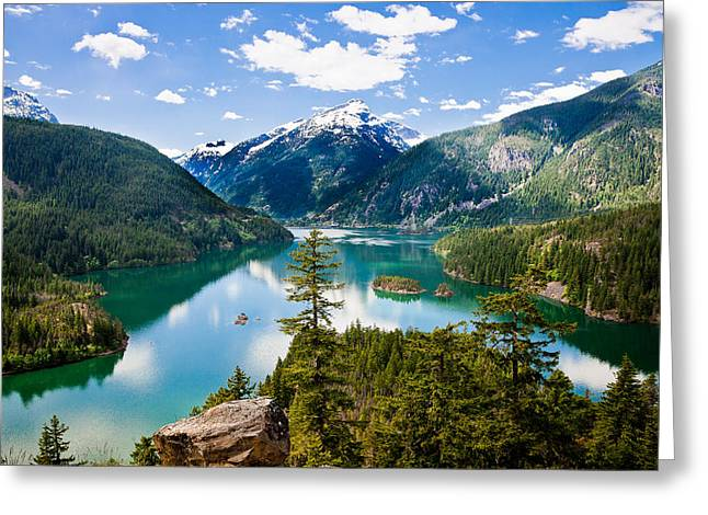 North Cascades Greeting Cards - North Cascades Greeting Card by Niels Nielsen