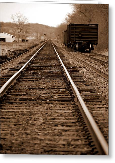 Jame Hayes Greeting Cards - North Line Greeting Card by Jame Hayes
