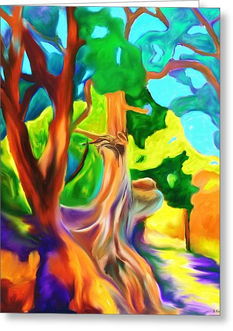Gnarly Greeting Cards - North Rim Splendor Greeting Card by Jo-Anne Gazo-McKim
