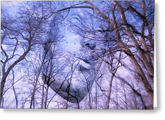 Solstice Greeting Cards Greeting Cards - North Wind Greeting Card by Kathy Bassett